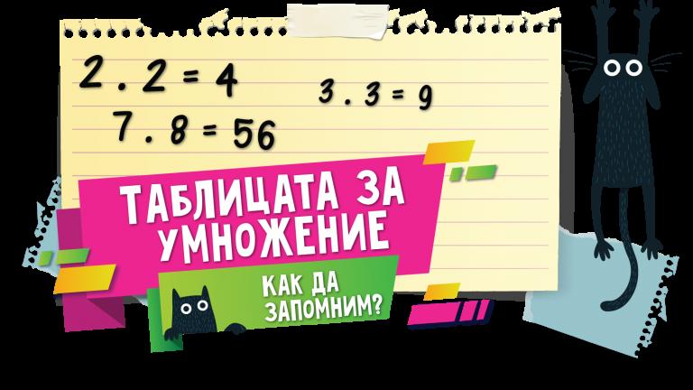 Как да запомним таблицата за умножение?